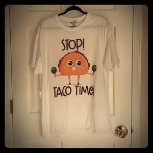 Stop Taco Time fiesta cinco de Mayo Mexican tee